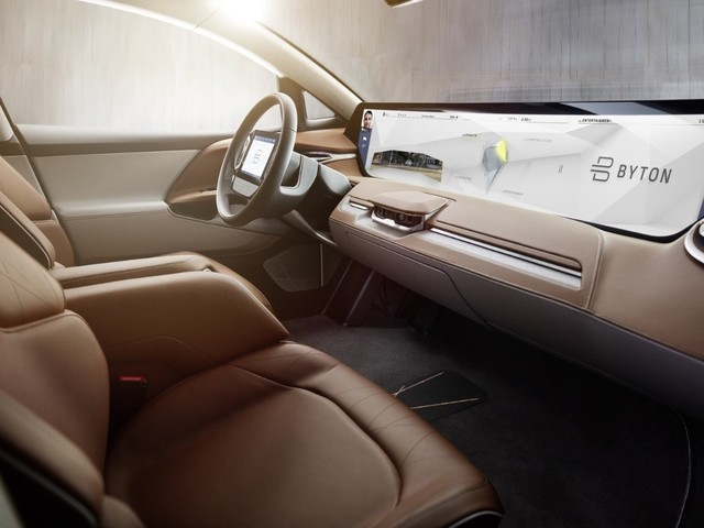 Future Mobility Byton - Nuove informazioni sull'elettrica autonoma per il Ces