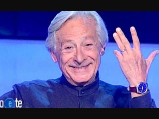Leo Gullotta ha sposato il suo compagno storico: a Io e Te mostra la fede al dito