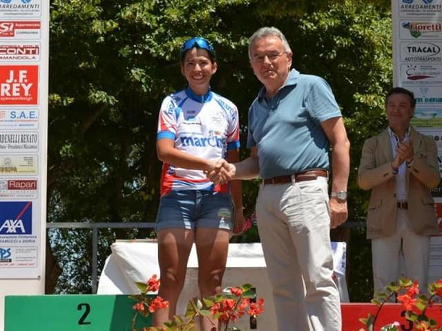 Il Club Ciclistico Corridonia protagonista al Campionato Italiano Donne in Abruzzo