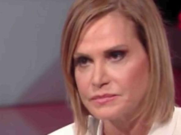 Simona Ventura in lacrime a Cartabianca: ecco perché ha pianto dalla Berlinguer