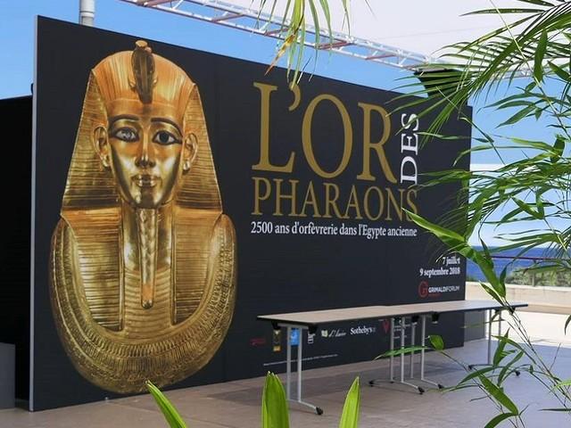 Oro dei Faraoni, 2500 anni d'oreficeria dell'Antico Egitto al Grimaldi Forum di Monaco