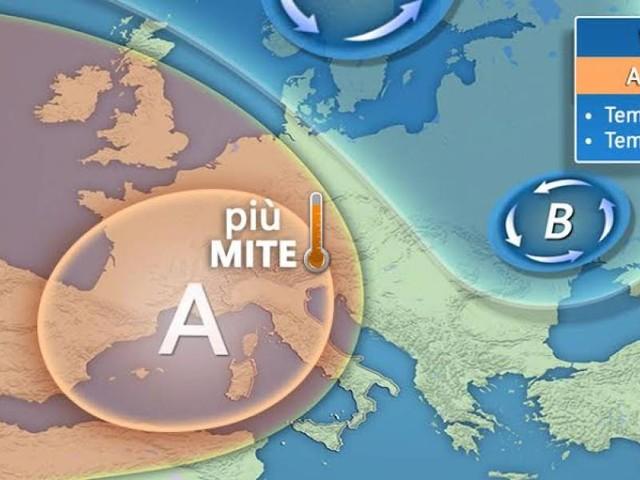 Meteo Italia: weekend con sole e temperature in aumento, dal 25 Aprile peggiora al Nord
