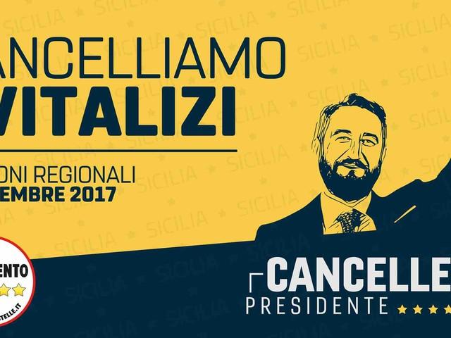 La prima cosa che farà Giancarlo Cancelleri da presidente della Sicilia