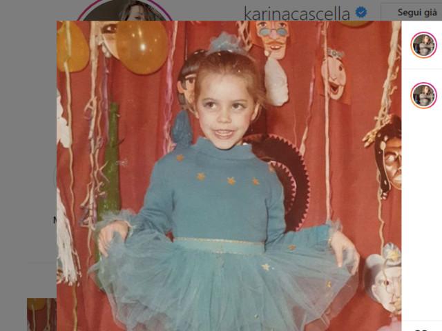 Karina Cascella compie 40 anni e si fa una dedica speciale sui social