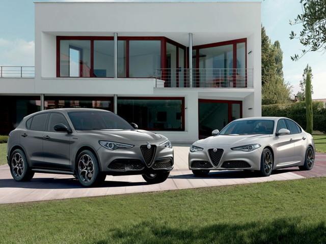 Alfa Romeo lancia Giulia e Stelvio Web Edition. Solo online!