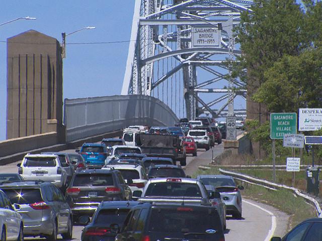 Sagamore Bridge Lane Closures Begin; 'Travel Delays Are Likely'