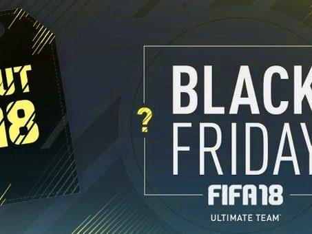 Black Friday 2017 FIFA 18 Ultimate Team, i consigli principali per l'evento