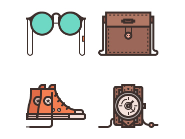 How to Create a Stylish Accessories Icon Pack in Adobe Illustrator