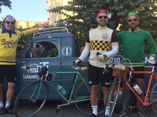 Coppi, Bartali e i pionieri rivivono a Gaiole in Chianti: anche tre casalaschi partecipano all'Eroica