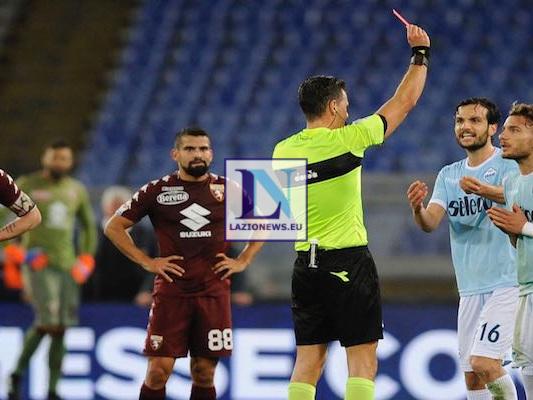 LA MOVIOLA. Lazio-Torino, scandalo Giacomelli: negato rigore a Immobile, poi espulso