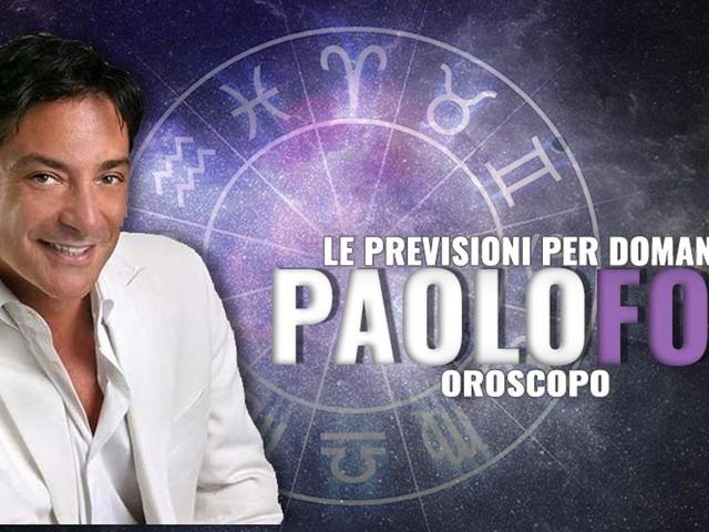 Oroscopo Paolo Fox, le anticipazioni di domani lunedì 25 Maggio 2020