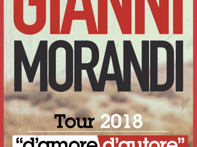 Gianni Morandi: boom di richieste per il Tour 2018, aggiunte due date