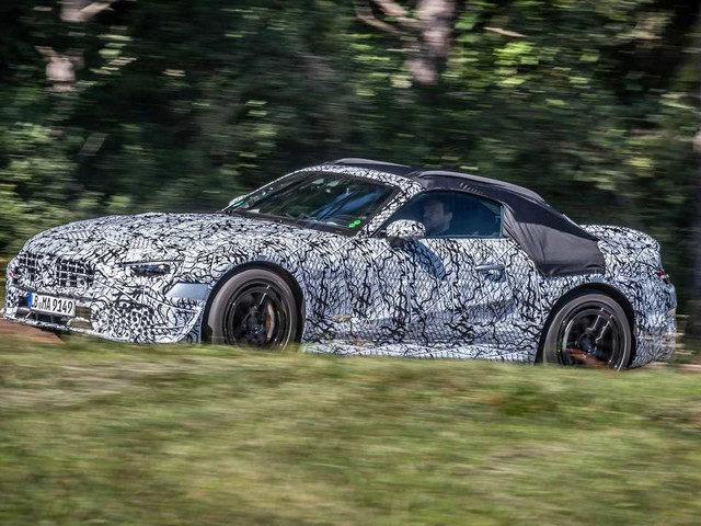 Avvistati alcuni esemplari della nuova Mercedes SL