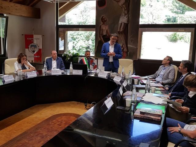 La giunta provinciale a Giustino Ecco le principali decisioni fra contributi e incarichi