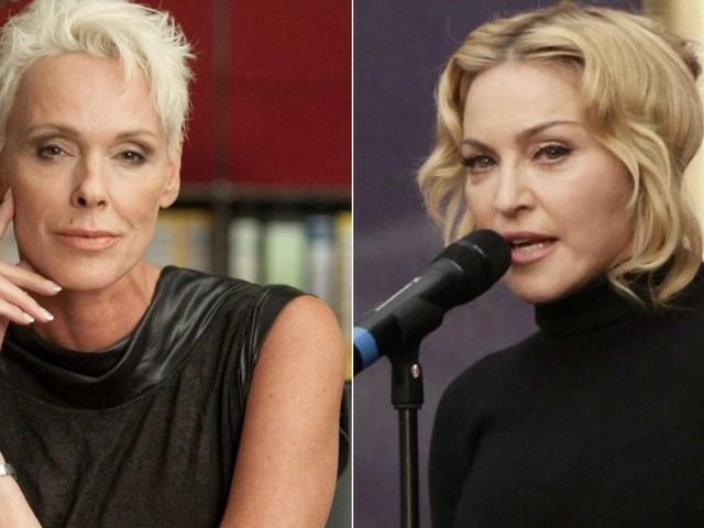 """Brigitte Nielsen contro Madonna: """"Le tirai uno schiaffo, poi andai a letto con suo marito"""""""