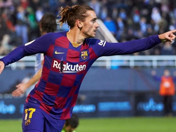 Coppa del Re, Ibiza-Barcellona 1-2: la doppietta di Griezmann salva il Barça