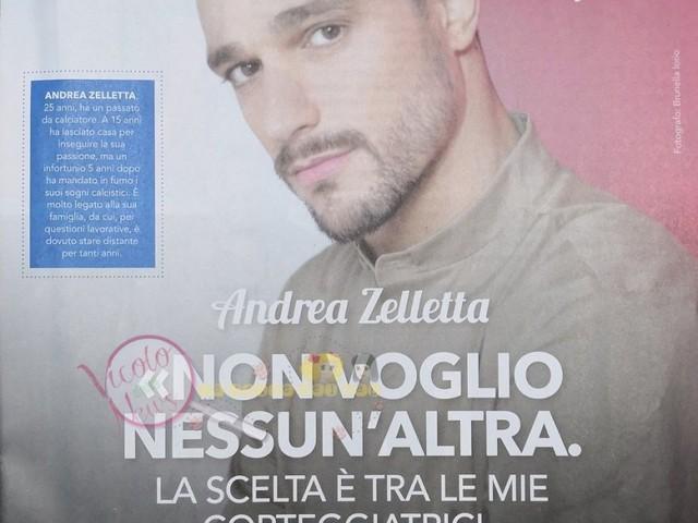 Intervista ad Andrea Zelletta: chi sceglierà tra Natalia, Muriel, Klaudia e Giorgia? E' già innamorato? Voi cosa capite dalle sue parole?