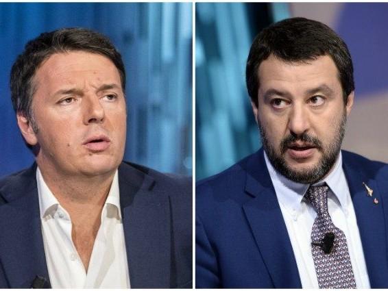 """Matteo Renzi attacca Matteo Salvini: """"Fa lo sciacallo, non il ministro"""""""
