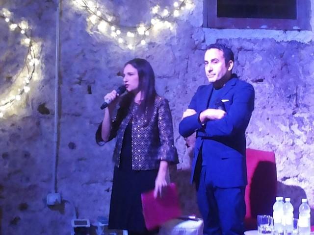 Palermo, presentato il libro 'Buonissimo' di Elisa Isoardi e dello chef Natale Giunta