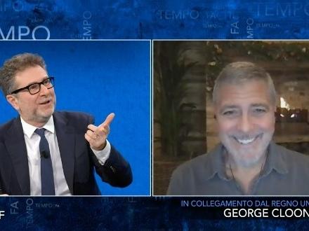 """""""Fazio ha pagato 150mila euro per George Clooney?"""", l'indiscrezione che imbarazza la Rai"""