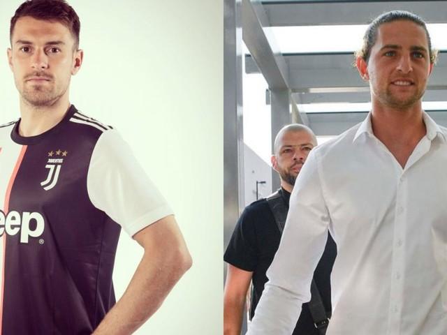 Juve, Ramsey e Rabiot: il centrocampo bianconero cambia volto e diventa fresco e veloce