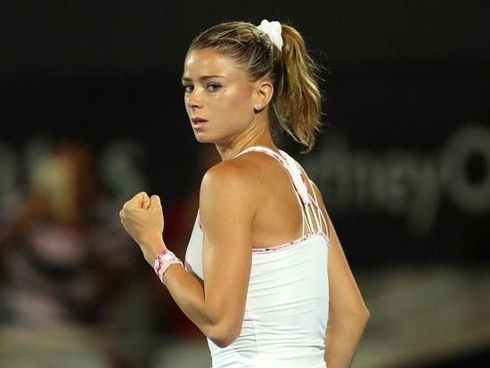 La pagina delle italiane Live (WTA). Le azzurre in campo il 12 Gennaio 2018. Camila Giorgi vs Angelique Kerber a Sydney