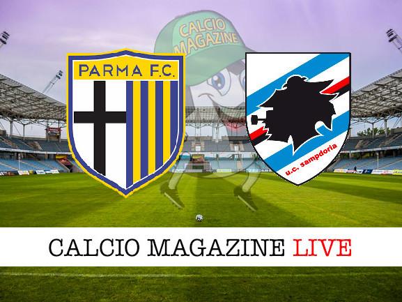 Parma – Sampdoria: cronaca diretta live, risultato in tempo reale