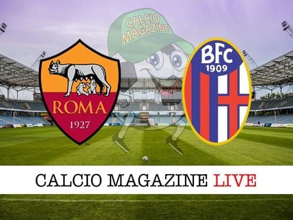 Roma – Bologna: cronaca diretta live, risultato in tempo reale