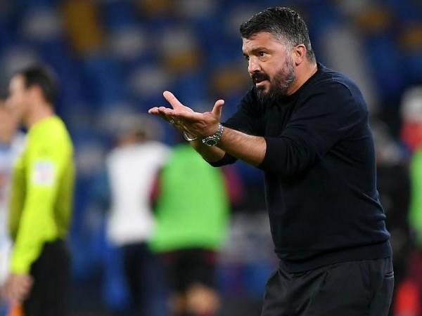 Napoli, Gattuso: 'Insigne? Non ho detto che deve dare di più. Non ho visto Maradona, sono arrabbiato con mio padre'