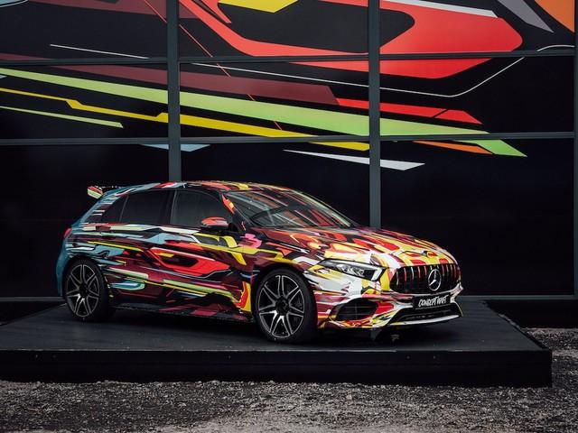 Mercedes-AMG A45: al Nurburgring l'anteprima della Classe A più estrema