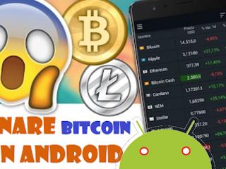 App per minare Bitcoin o altre criptovalute con Smartphone Android