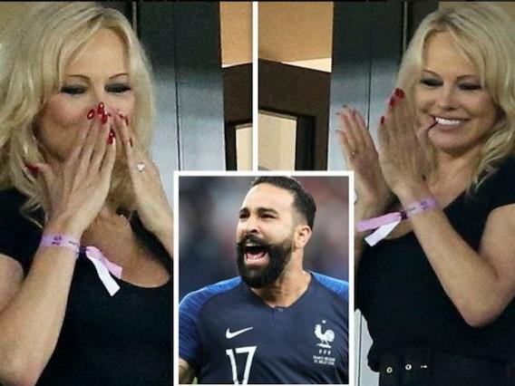 Adil Rami sposerà Pamela Anderson dopo la vittoria dei Mondiali con la Francia