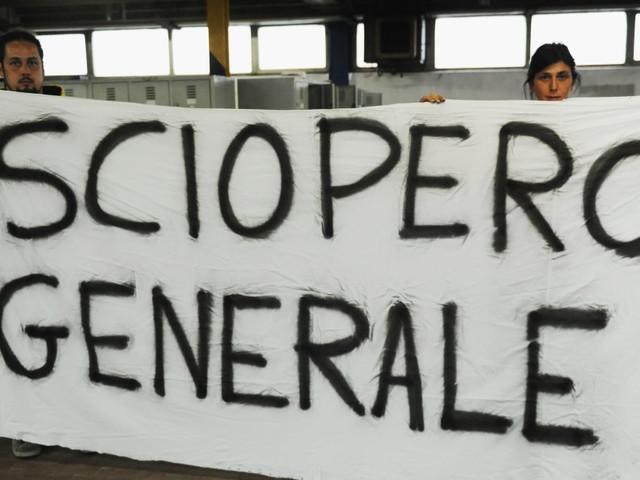 Il venerdì nero dei trasporti, si blocca l'Italia. Scioperi ovunque e disagi lungo le arterie principali