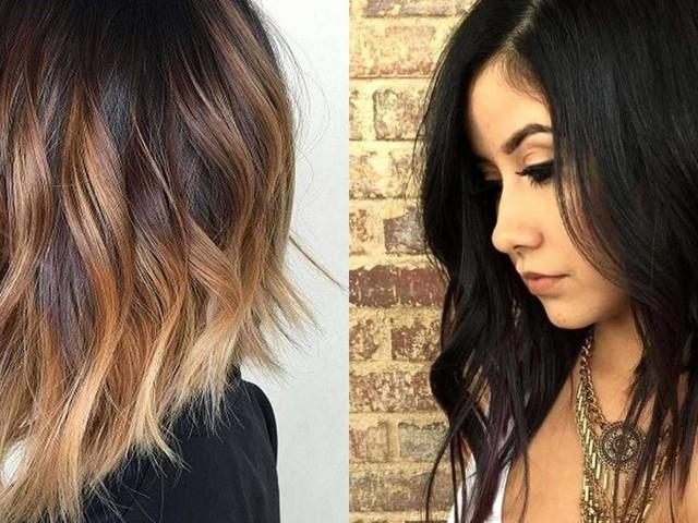 Tagli di capelli autunno: il long bob, la frangia e la tonalità bionda