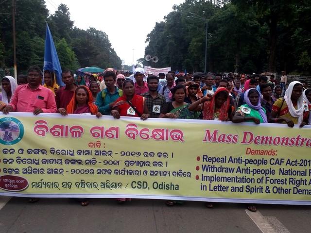 Il governo indiano rinuncia alla riforma dell'Indian Forest Act