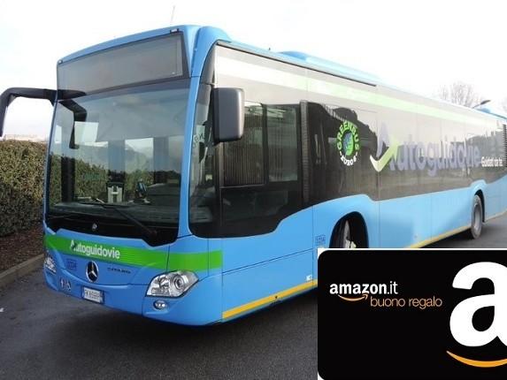 """""""Io viaggio ovunque in Lombardia"""": torna l'iniziativa di Autoguidovie che mette in palio buoni regalo Amazon"""
