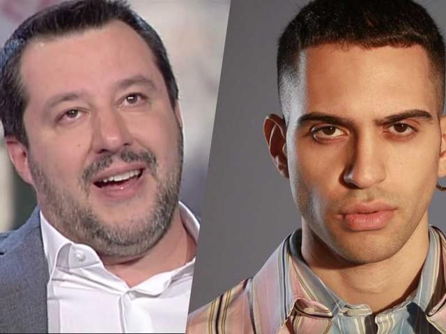 Mahmood svela cosa gli ha scritto Matteo Salvini per sms