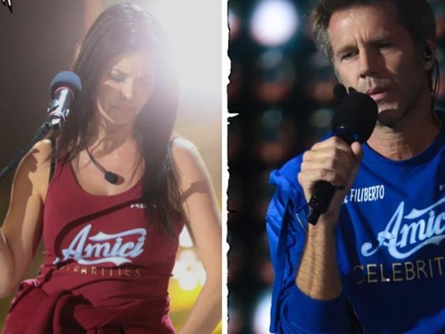 Semifinale Amici Celebrities del 16 ottobre: eliminata la Torrisi e Filiberto