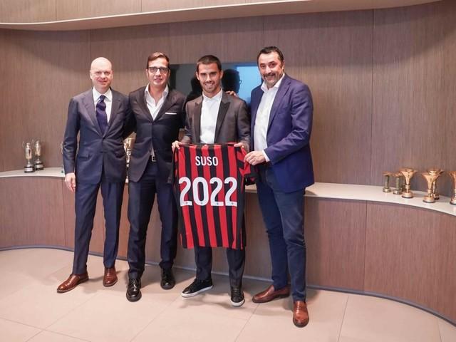 Milan, ufficiale: Suso rinnova fino al 2022