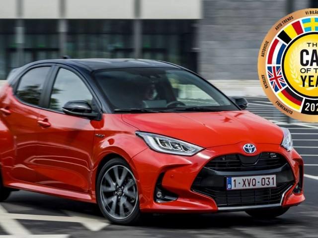 Car of the Year 2021 - L'Auto dellAnno è la Toyota Yaris