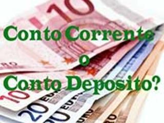 Liquidità. Conto Deposito o Conto Corrente?