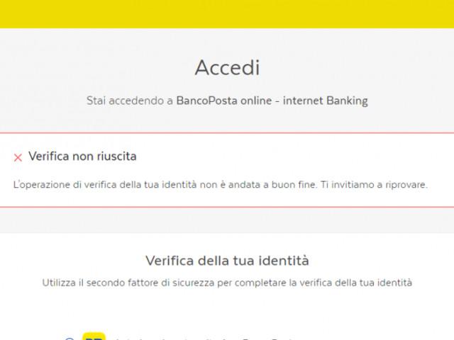 Seri problemi al sito e app Poste il 9 dicembre: non funziona autenticazione con errore generico