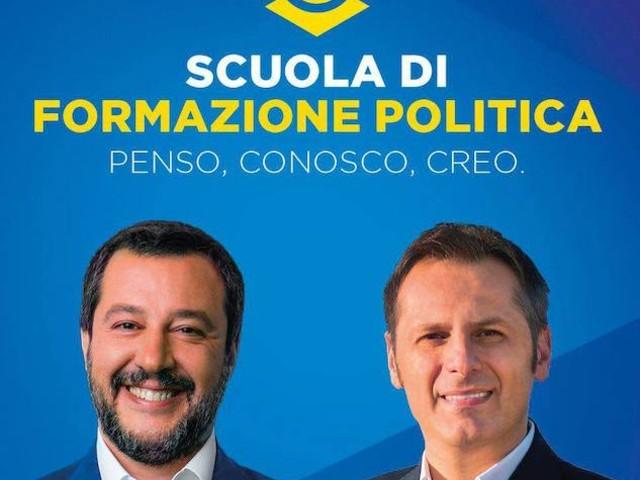 Matteo Salvini sponsorizza la scuola di formazione politica insieme ad Armando Siri