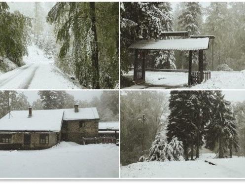 Meteo quasi invernale in Croazia: freddo record in Dalmazia, neve vicino Zagabria