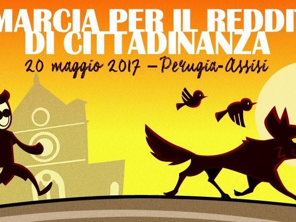 20 maggio: Marcia Perugia Assisi per il #RedditoDiCittadinanza