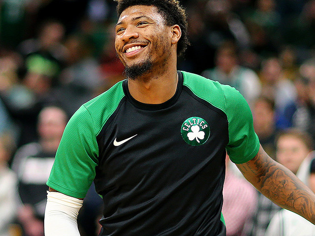 Marcus Smart Would Like Everyone To Stop Kicking Him In The Groin