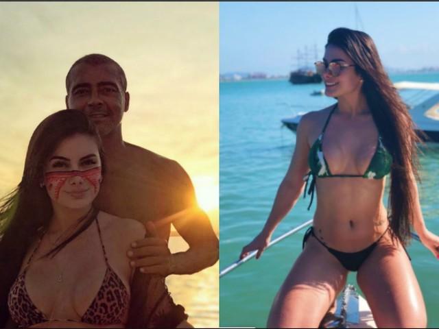 Chi è Ana Karoline Nazario, la fidanzata di Romario più giovane di 31 anni