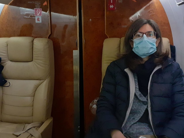 Deborah Iori è partita per curarsi a Dallas: aveva chiesto un aiuto per il volo