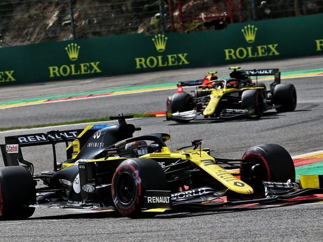 Formula 1 - GP d'Italia a Monza, le interviste ai piloti Renault Ocon e Ricciardo