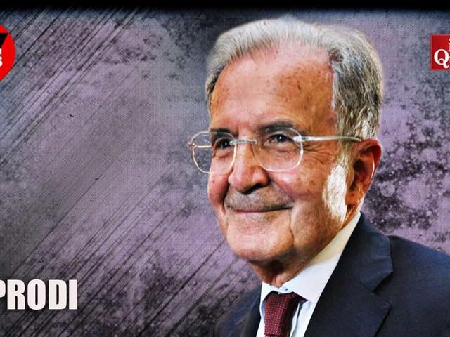 """Prodi: """"Io al Quirinale? Assolutamente no, non fa per me. Ho 82 anni e comunque a me piaceva fare il presidente del Consiglio"""""""